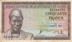 Image #1 of 50 Francs 1960 (1. III.)