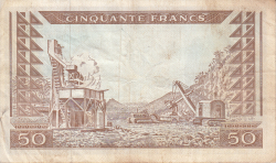 Image #2 of 50 Francs 1960 (1. III.)