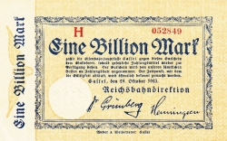 Image #1 of 1 Billion (1 000 000 000 000) Mark 1923 (24. X.)