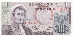 Imaginea #1 a 10 Pesos Oro 1980 (7. VIII.)