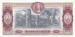 Imaginea #2 a 10 Pesos Oro 1980 (7. VIII.)
