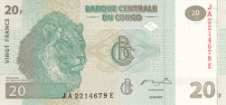 Image #1 of 20 Francs 2003 (30. VI.)