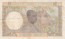 Image #2 of 25 Francs 1943 (17. VIII.)