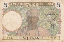 Image #1 of 5 Francs 1937 (15. III.)