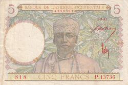 Image #1 of 5 Francs 1943 (2. III.)