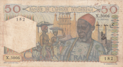 Image #1 of 50 Francs 1951 (2. X.)