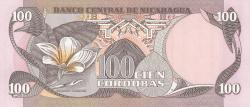 100 Cordobas D.1979