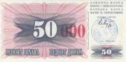 Imaginea #1 a 50 000 Dinari 1993 (24. XII.)