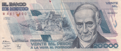 Image #1 of 20,000 Pesos 1989 (28. III.) - SERIE DY