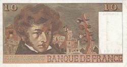 Image #2 of 10 Francs 1975 (7. VIII.)