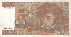 Image #1 of 10 Francs 1975 (7. VIII.)
