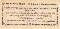 Imaginea #2 a 5 Centavos 1943