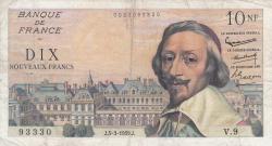 10 Nouveaux Francs 1959 (5. III.)