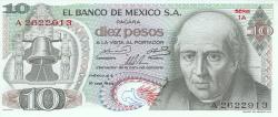 Image #1 of 10 Pesos 1969 (16. IX.)