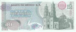Image #2 of 10 Pesos 1969 (16. IX.)
