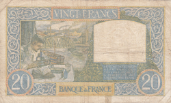 Image #2 of 20 Francs 1941 (20. II.)