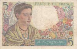 Image #2 of 5 Francs 1945 (5. IV.)
