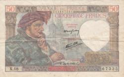 Image #1 of 50 Francs 1940 (26. IX.)