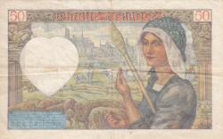 Image #2 of 50 Francs 1940 (26. IX.)