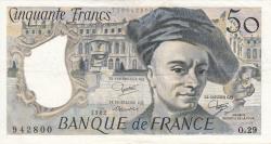 Image #1 of 50 Francs 1982