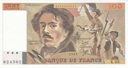 Image #1 of 100 Francs 1985