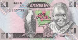 Imaginea #1 a 1 Kwacha ND (1980-88)