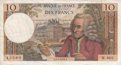 Imaginea #1 a 10 Franci 1970 (2. VII.)