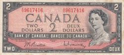Imaginea #1 a 2 Dolari 1954 (1961-1972)