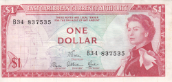 Image #1 of 1 Dolar ND (1965)