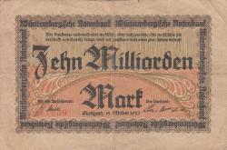 Image #1 of 10 Milliarden (10 000 000 000) Mark 1923 (15. X.)