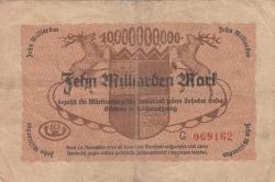 Image #2 of 10 Milliarden (10 000 000 000) Mark 1923 (15. X.)