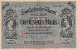 Image #1 of 100 Mark 1911 (2. I.) - Ser. III.