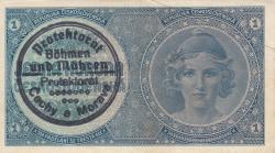 Imaginea #1 a 1 Koruna ND (1939)