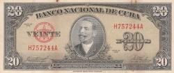 Imaginea #1 a 20 Pesos 1958