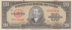 Image #1 of 20 Pesos 1958