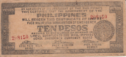 10 Pesos 1942