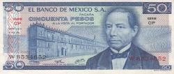 Image #1 of 50 Pesos 1976 (8. VII.) - Serie CP