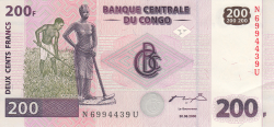 Image #1 of 200 Francs 2000 (30. VI.) (2003)