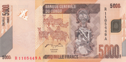 Image #1 of 5000 Francs 2005 (2. II.)