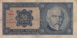 20 Coroane 1926 (1. X.) - 2
