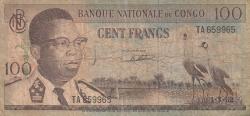 Image #1 of 100 Francs 1962 (1. III.)