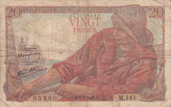 Image #1 of 20 Francs 1945 (5. VII.)