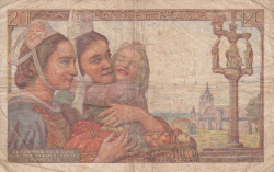 Image #2 of 20 Francs 1945 (5. VII.)