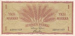 Image #1 of 1 Markka 1963 - signatures Rossi / Engberg