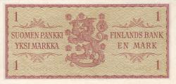 Image #2 of 1 Markka 1963 - signatures Rossi / Engberg