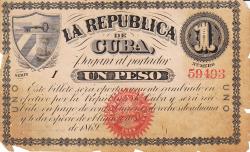 Imaginea #1 a 1 Peso 1869