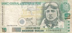 10 Nuevos Soles 1996 (24. IV.)