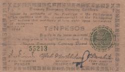 Image #1 of 10 Pesos 1944