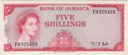 Imaginea #1 a 5 Shillings L.1960 (1964)