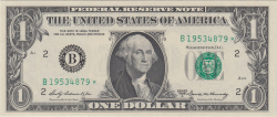 Image #1 of 1 Dollar 1969A - B (replacement note)